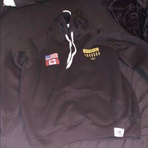 ethik hoodie size medium